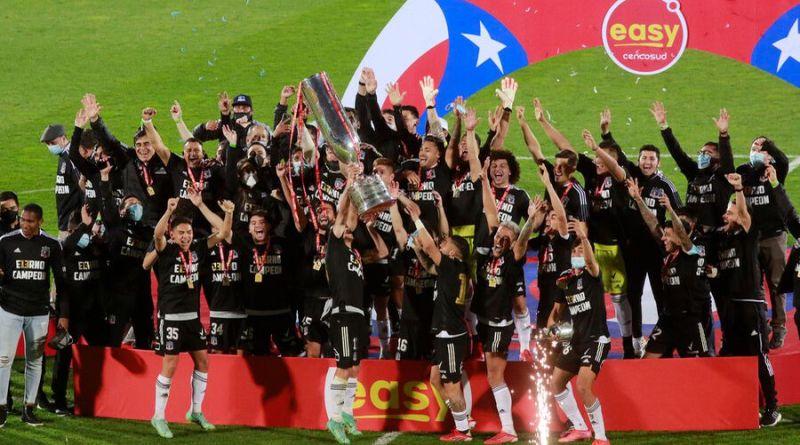 Colo Colo campeón Copa Chile 2021 - Agencia UNO