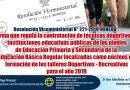 RVM N° 221-2019-MINEDU, Norma que regula la contratación de técnicos deportivos en instituciones educativas públicas de los niveles de Educación Primaria y Secundaria de la Educación Básica Regular focalizadas como núcleos de formación de los talleres Deportivos – Recreativos para el año 2019