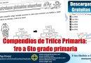 Compendios de Trilce Primaria:  1ro a 6to grado primaria