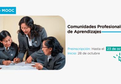 """Preinscríbete al cuarto Mooc: """"Comunidades profesionales de aprendizaje"""""""