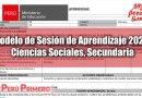 Modelo de Sesión de Aprendizaje 2020, Ciencias Sociales, Secundaria