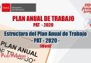 Estructura de PAT 2020, [DESCARGAR WORD]