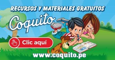 COQUITO ofrece recursos y materiales gratuitos (coquito.pe)