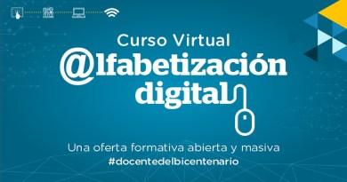 PERÚEDUCA: Participa en el nuevo curso sobre Alfabetización Digital