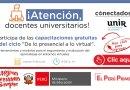 """¡Atención docente universitario!: Ciclo de Webinars – """"Herramientas y modelos para el seguimiento y evaluación del aprendizaje en entornos virtuales"""" [jueves 9 de julio a  las 9:00 hrs de Perú]"""