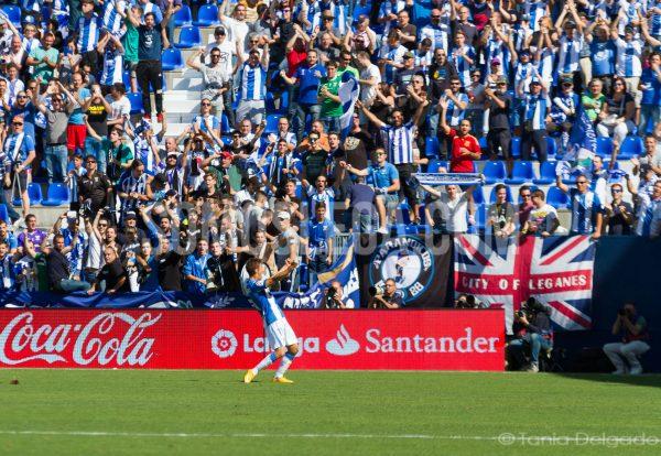 Encuentro disputado en el Estadio de Butarque correspondiente a la J6 de la Liga Santander 16/17. Fotografías realizadas para SomosLega por Tania Delgado.
