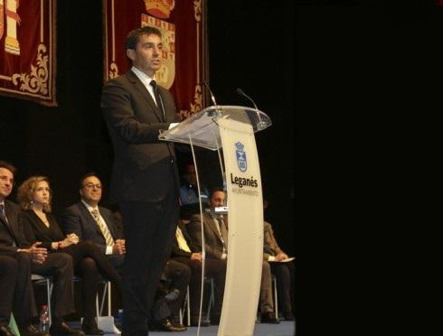 Asier Garitano, Hijo Adoptivo de Leganés