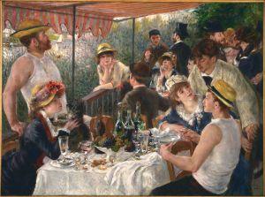"""El desayuno de los remeros"""", una obra que, como todas las de Renoir, transmite esperanza y alegría de vivir."""