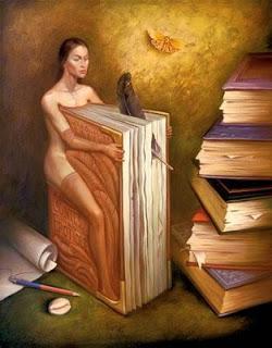 """""""La mujer-libro"""", de Salvador Dalí"""