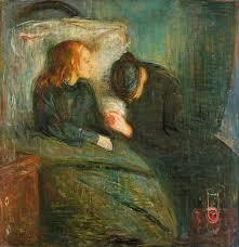 """""""La niña enferma"""", de Edward Munch"""