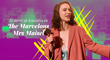El stand up femenino en the marvelous mrs. maisel