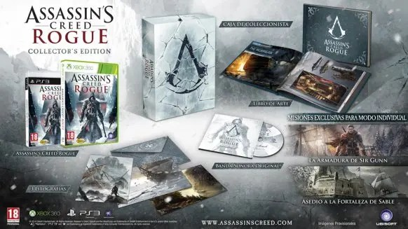 Assassin's Creed Rogue special