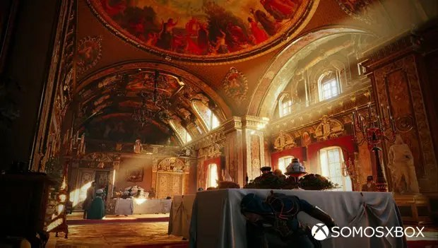 assassin's creed unity interiores