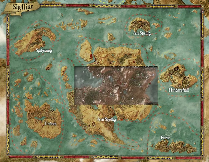 The Witcher 3 mapa (2)