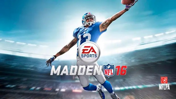 Madden NFL 16 cover Somosxbox