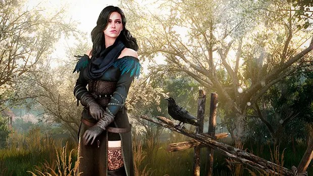 The Witcher 3 Yennefer
