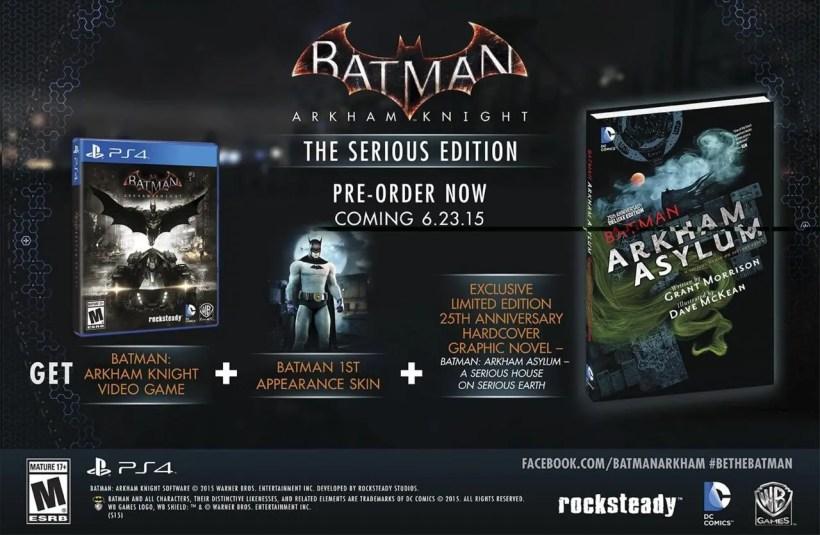 batman arkham knight serious edition