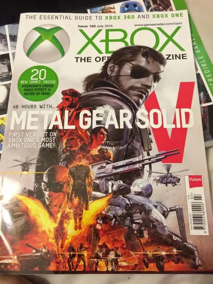 información de Metal Gear Solid V: The Phantom Pain