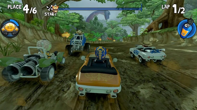 beach buggy racing 4