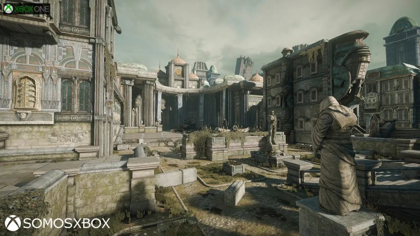 courtyard-gears of war