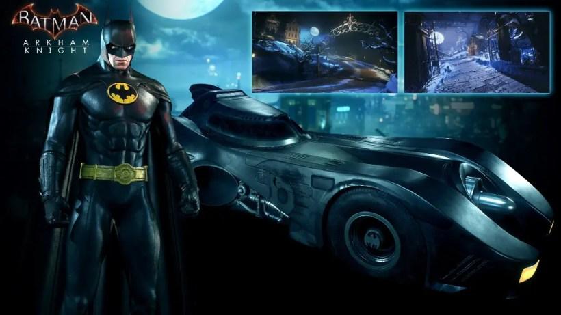 Batmóvil de Tim Burton_Batman_Arkham_Knight