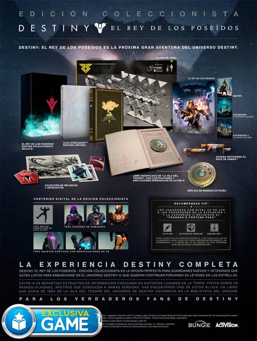 Destiny Edicion Coleccionista