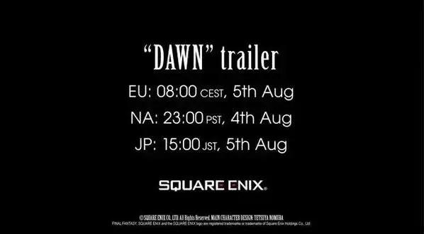 Mañana tendremos nuevo trailer de Final Fantasy XV