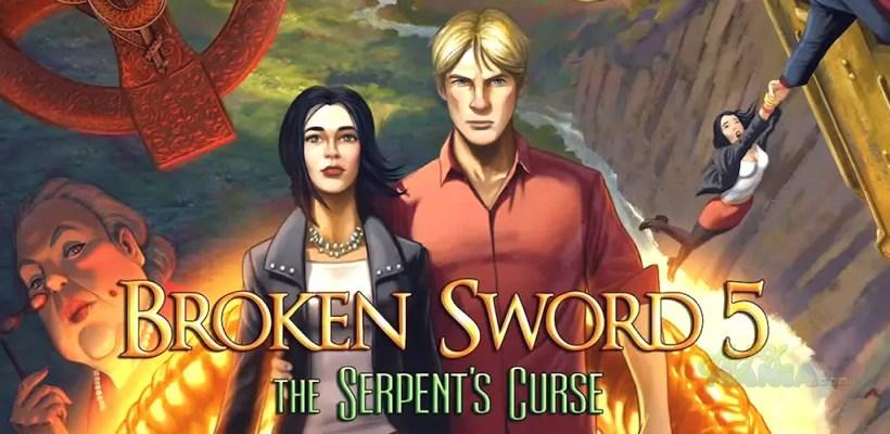 broken sword V portada