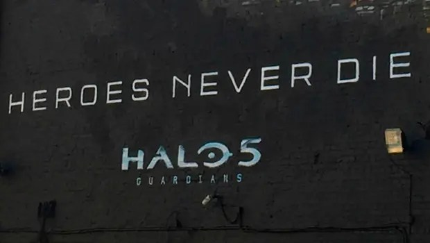 MuralHALO5LondresSomosXbox
