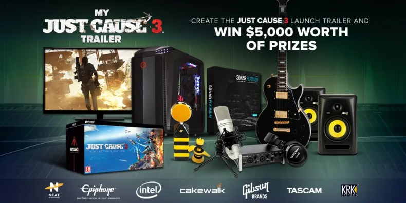 Just Cause 3 Trailer Competition