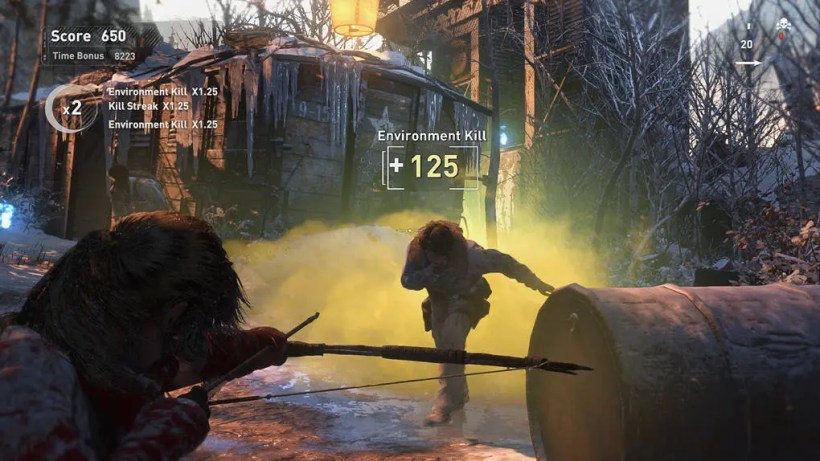 Rise of the Tomb Raider Tarjetas de Expedición