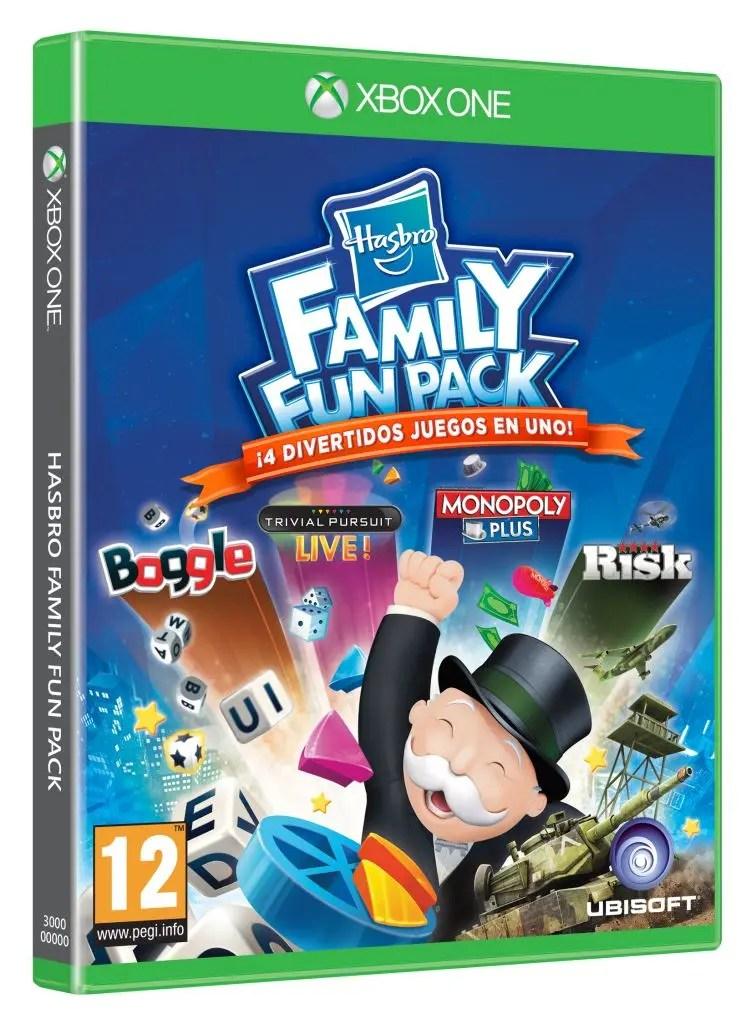 family fun pack hasbro xbox one