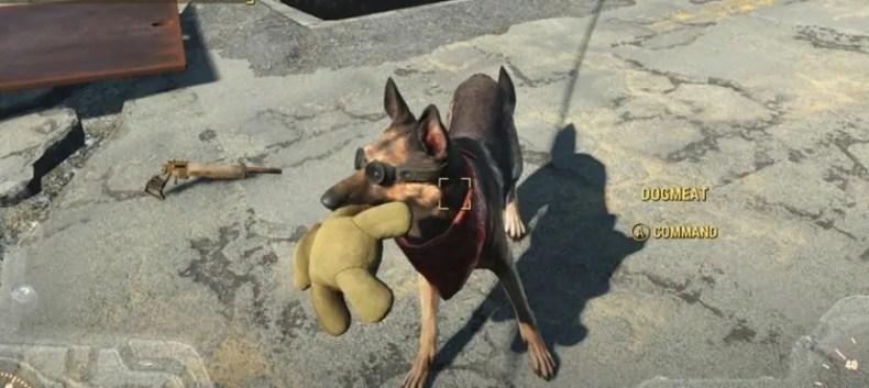 albondiga ropa fallout 4 perro
