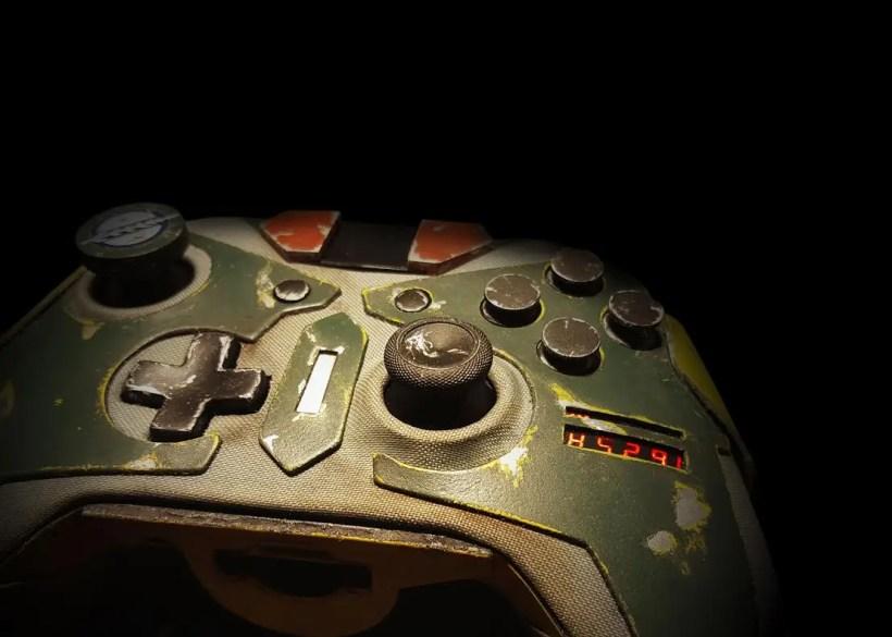 mando de Xbox One de Boba Fett