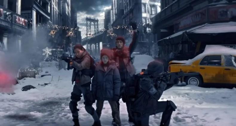 trailer de The Division con actores reales