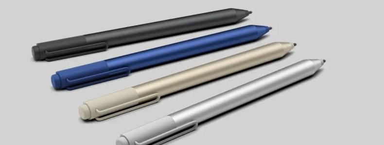 Microsoft Surface Pen Oro Plata Azul