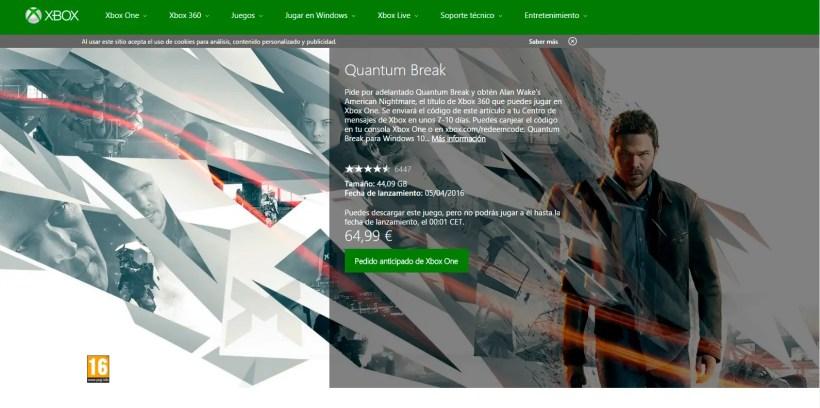QuantumBreakStore