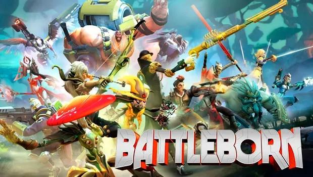 Battleborn Portada