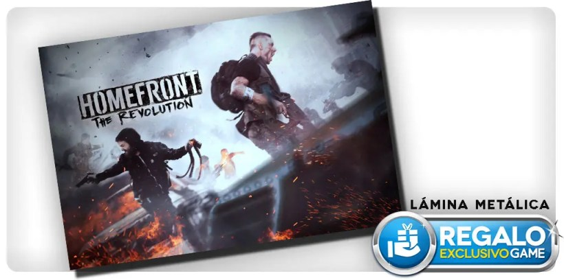 Homefront The Revolution reserva GAME