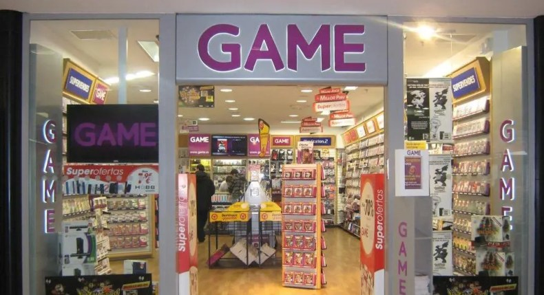 game logo tiendas tienda