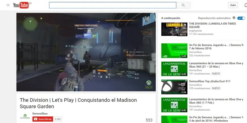 youtube the division