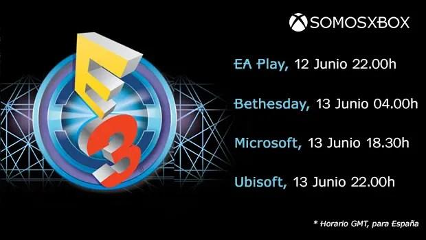E3 Calendario