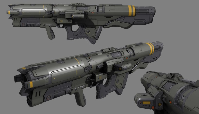 Timothee Yeramian - Rocket Launcher Render