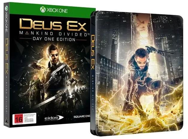 Deus Ex Mankind Divided Day 1