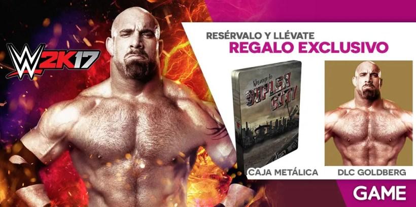 Reserva WWE 2k17