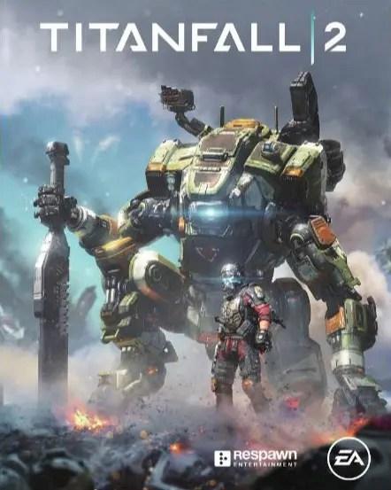 Titanfall 2 portada japón