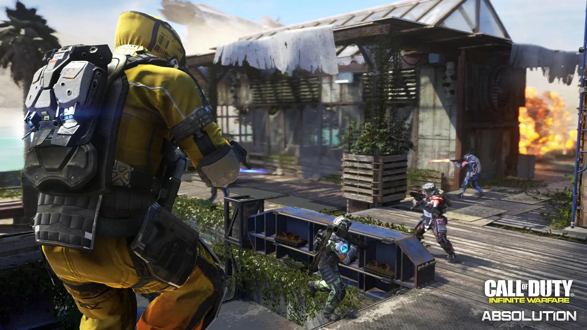 Mapa Bermuda en Call of Duty: Infinite Warfare Absolution