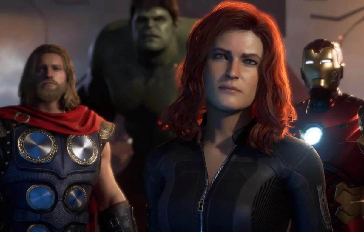 jogabilidade dos Vingadores da Marvel da E3 2019