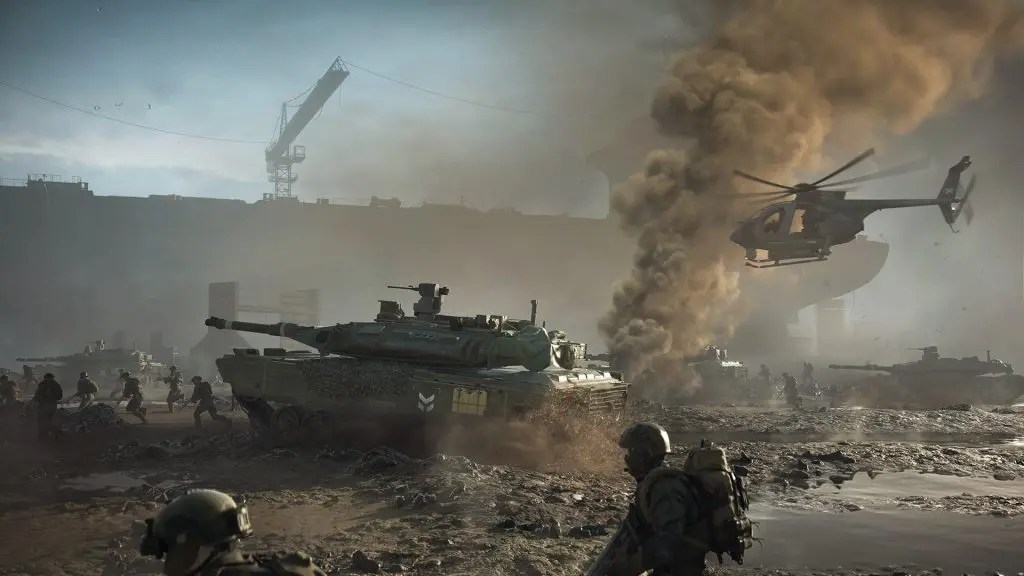 Xbox Series X | S are the official Battlefield 2042 consoles