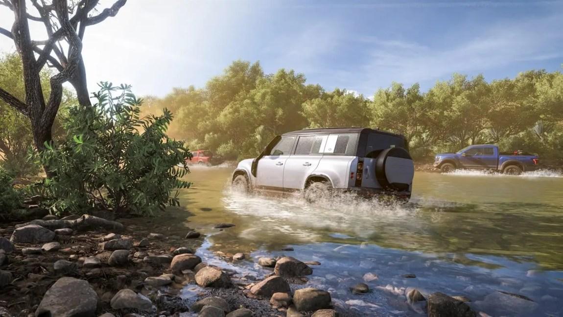 Forza Horizon 5 gameplay through the swamps of Mexico